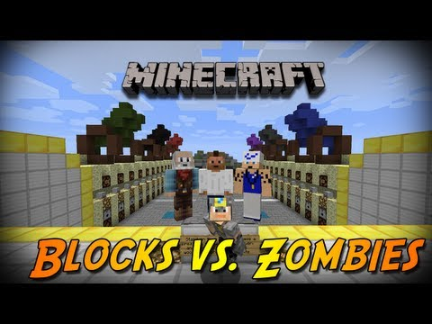 Make Minecraft Blocks Vs Zombies - نقدر نقعد 20 دقيقة ؟ Screenshots