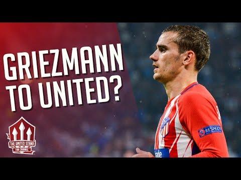 GRIEZMANN Talks Transfer! Manchester United Transfer News
