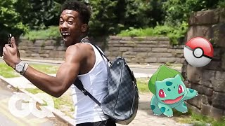 Desiigner Plays Pokémon Go | GQ
