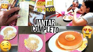 PREPARANDO JANTAR COMPLETO PARA DOIS COM ATÉ R$ 24,00 ♥ - Bruna Paula