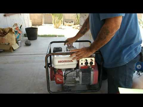 How to Clean a Rusted Gas Tank on Honda Generator EG2200x