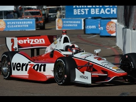 2014 IndyCar GP of Long Beach Juan Pablo Montoya Highlights