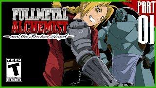 FULLMETAL ALCHEMIST AND THE BROKEN ANGEL | Story Mode Gameplay Walkthrough part 1 [PCSX2 - HD]