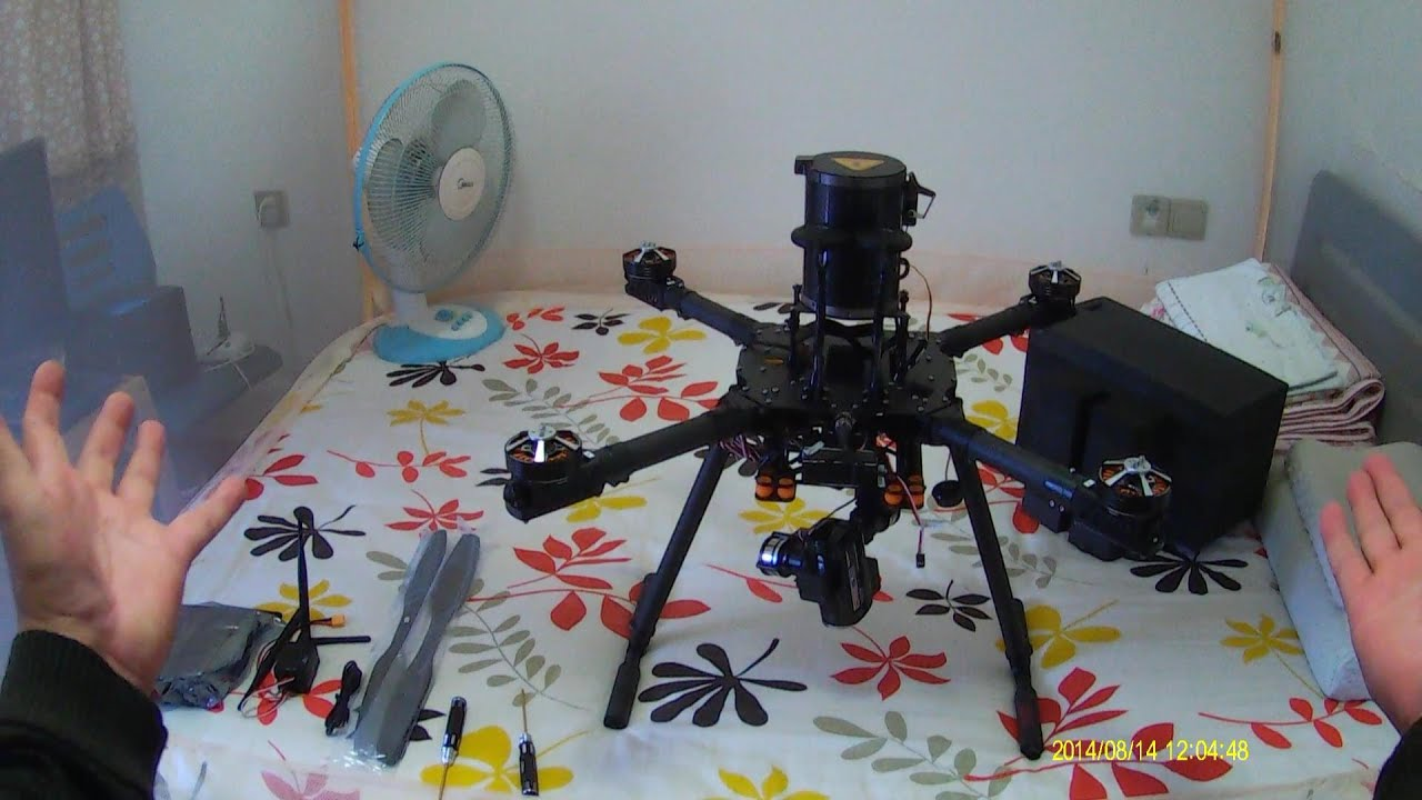 Unboxing Eagle Eye 30X Optical Zoom Cam Surveillance Quadcopter