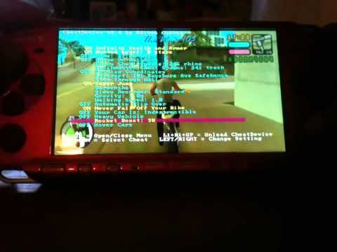DEVICE 6.60 PSP VCS CHEAT GTA TÉLÉCHARGER