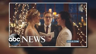 Hallmark Channel reverses decision on same-sex wedding ad l ABC News