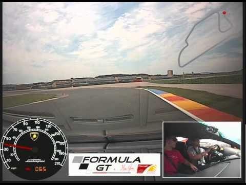 Lamborghini Gallardo Onboard Formula Gt Cheste 07 2014 Youtube