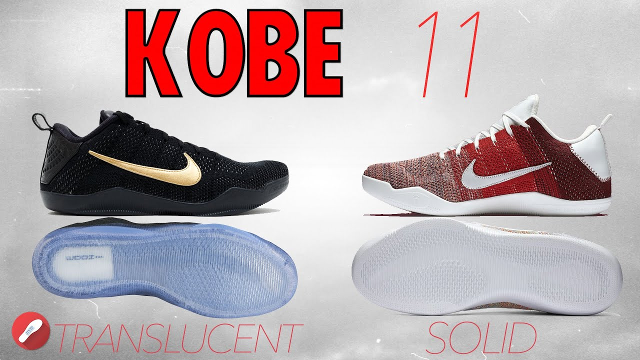 3ccba6191299 coupon code for nike kobe xi elite black space 84738 8b04b  order kobe 11  translucent vs solid rubber outsole whats better the sole brothers d4e4e  40788