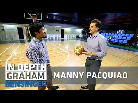 Manny Pacquiao's home and basketball court