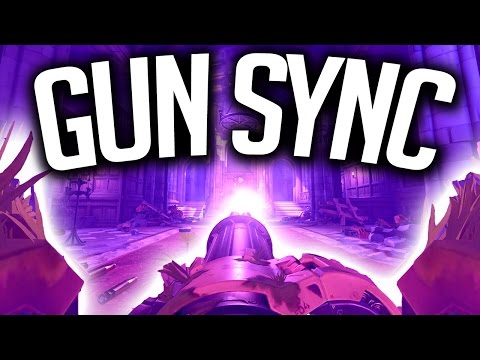 Overwatch Gun Sync - The Glitch Mob - Seven Nation Army Remix (The White Stripes)