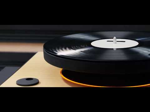 This levitating turntable plays your records in mid-air