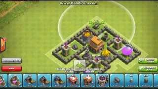 Clash Of Clans 5. Seviye Köy Binası #Köy Dizilimi