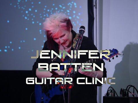 Jennifer Batten clínica (Live México City @ Quality Guitar 2016)