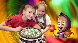 Вкусный шоколадный торт. Простой рецепт шоколадного торта от Алисы и Егора.
