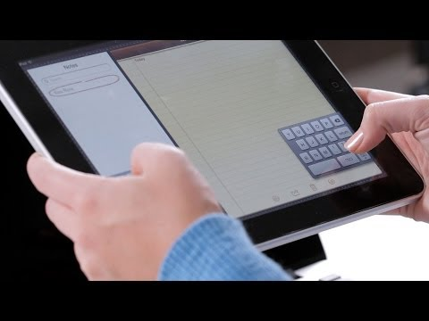 How to Move the iPad Keyboard   Mac Basics