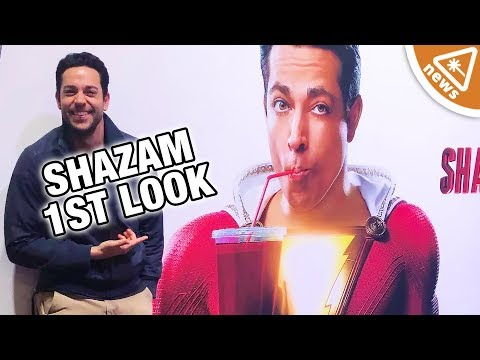 Our Official First Look at DC's Shazam! (Nerdist News w/ Jessica Chobot)