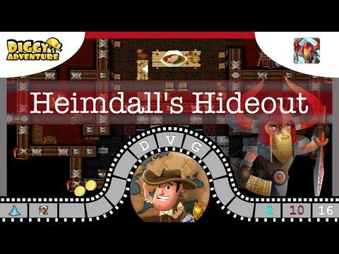 [~Heimdall~] #16 Heimdall's Hideout - Diggy's Adventure