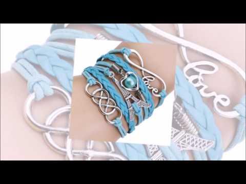 Кожаный плетёный браслет 1 Мастер класс - YouTube