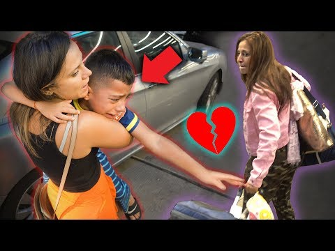 I CANT BELIEVE SHE LEFT US! *POOR KID* | The Royalty Family