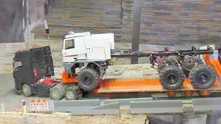 RC TRANSPORT l  THE BIGGEST RC FIRE TRUCK IN THE WORLD l  THE BUFFALO!!!