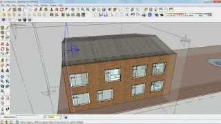 Lumion, GoogleSketchUp ..Урок №8 ..Завершаем строительство дома