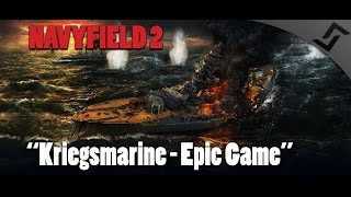 Navyfield 2 - Kriegsmarine - Destroyer Madness - World War II Ships