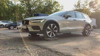 Как гребёт Volvo V60 CC? Ну и дела...