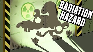 what would happen if you entered a radioactive area?