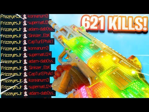 Fix this in the NEW UPDATE LOL.. (621 KILLS GAMEPLAY!) - COD BO4