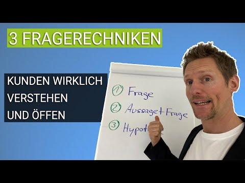 3 Fragetechniken: So verkaufst Du erfolgreich - Verkaufstrainer Dirk Stöcker
