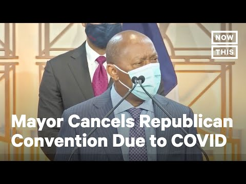 Houston Mayor Cancels GOP Convention Amid COVID-19 Spike | NowThis