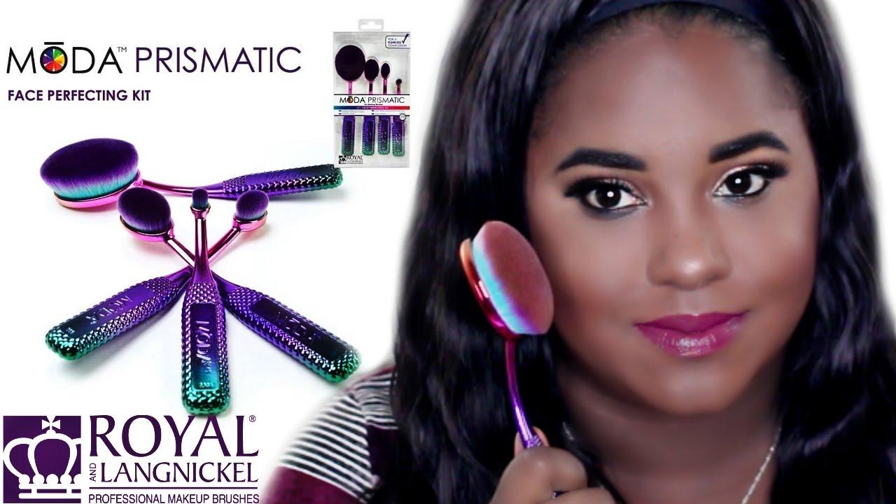 moda makeup brushes. best affordable makeup brush at walmart 💜 royal langnickel moda brushes - youtube s