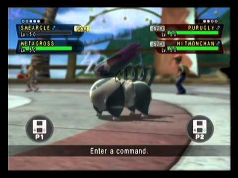 Pokemon Battle Revolution -- DS Battle: Dark Void Smeargle