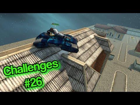 Tanki Online - Do Parkour With A Juggernaut?! Challenges #26