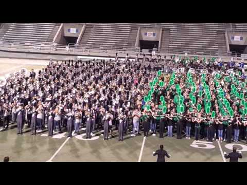 BISD Combined Bands Performance - Band Fest 2015