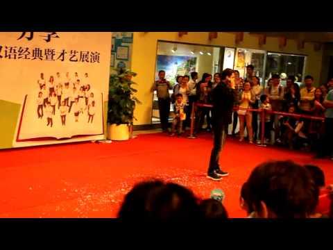 ,Turkish guy singing chinese song ,Türk çince müzik söylüyor, Shenzhen University