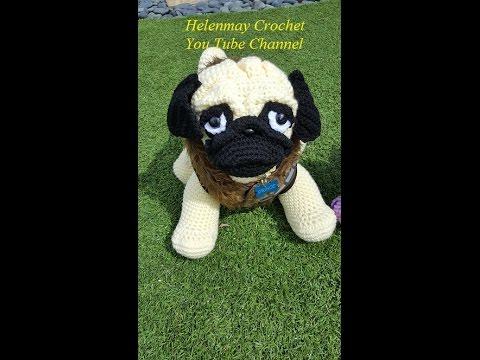 Pug pattern - free amigurumi pug crochet pattern | 360x480