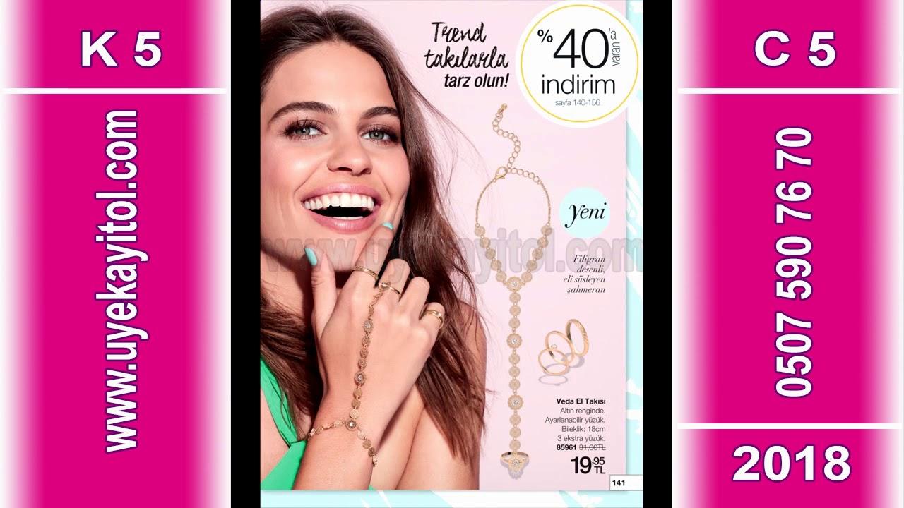 Avon K5 Katalog 2018 - Full HD - Avon C5 Catalog 2018 - Avon 13 Nisan - 11 Mayıs 2018