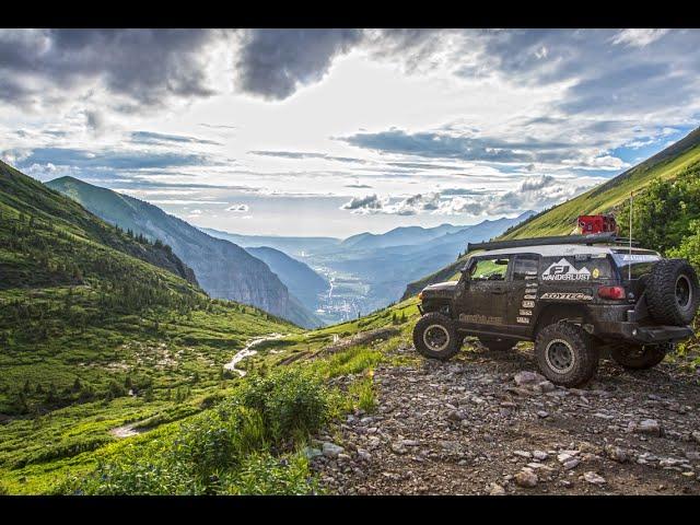 2015 Toyota FJ Cruiser Summit 4x4 Trails in Ouray Colorado
