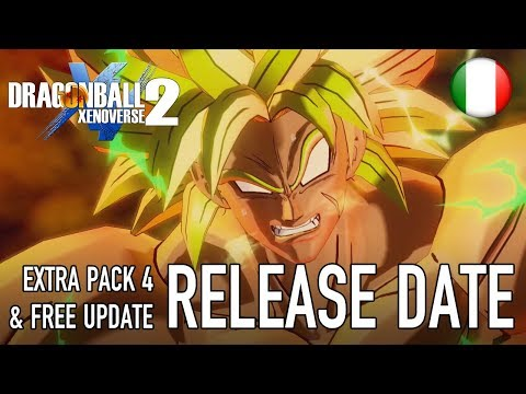 Dragon Ball Xenoverse 2 - PS4/XB1/PC/SWITCH - Extra Pack 4 Content and Release date (Italiano)