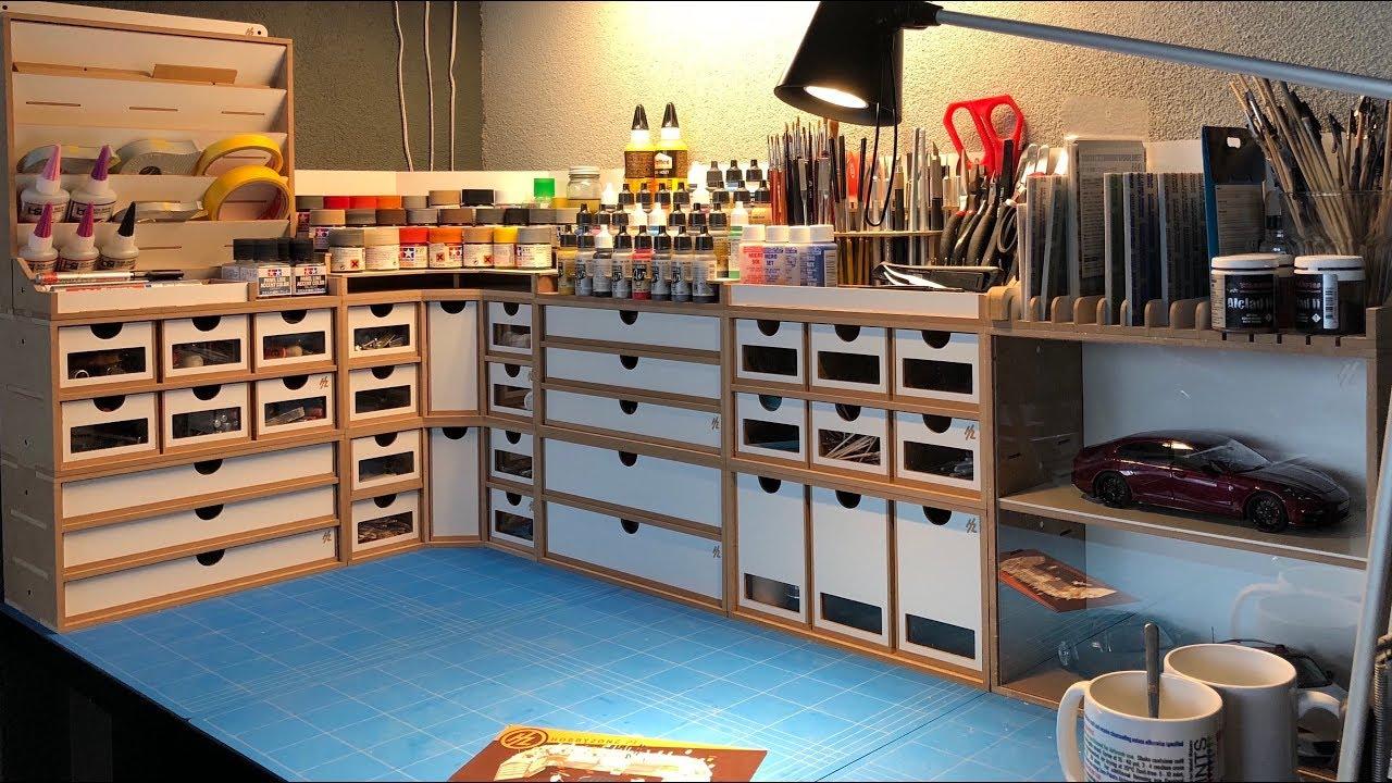 Hobbyzone My New Workbench Setup Youtube