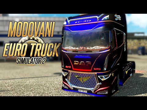 Modovani Euro Truck Simulator 2 - DAF EVO WING 1,000ks