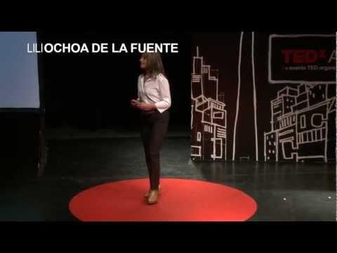 Cerebro corazon pulmon y escritura: Lili Ochoa De la Fuente at TEDxAvCorrientes 2012
