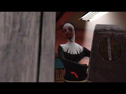 HELP ME BEAT THE NUN!! | Evil Nun LIVE thumbnail