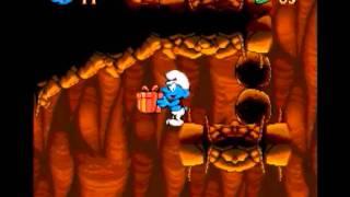 Die Schlümpfe (Smurfs) SNES - Quick Playthrough