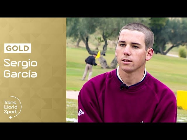 Teenage Sergio García   1999 Interview   Trans World Sport