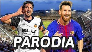 Canción Valencia vs Barcelona (Parodia Te Boté Remix- Bad Bunny, Ozuna, Nicky Jam, Darell)