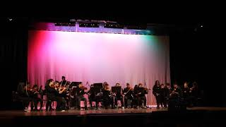 """HONORS ENSEMBLE, performing """"Starlight"""" by Muse (The Set, 2019 WPHS Talent Show)"""