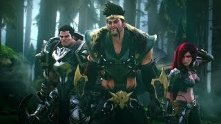 League Of Legends : Cutscene 2