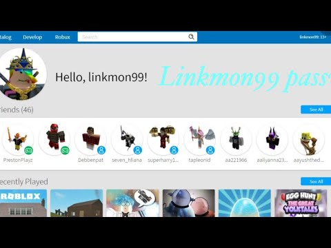 Linkmon99 Roblox Password Not Clickbait Youtube